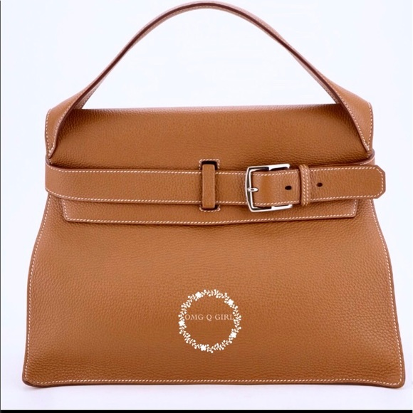 049ccc4e6af6 Hermes brown clemence leather Etribelt bag new NIB